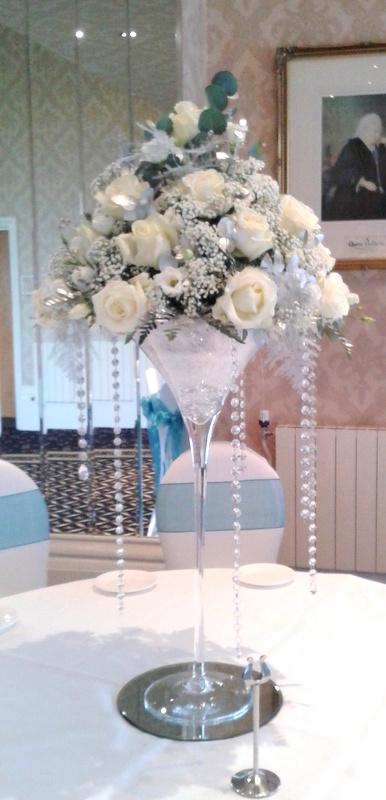 Martini Glasses At The Grand Hotel · Table Arrangements